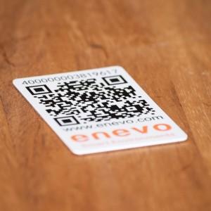 nfc and qr sticker